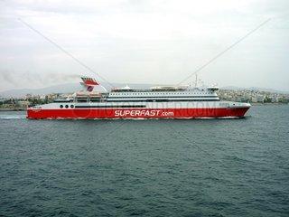 Faehrschiff Superfast II Piraeus
