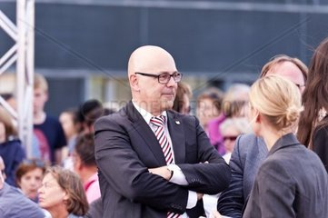 Kiel  Germany  27. August  2013  Prime Minister of Schleswig-Holstein  Torsten Albig  during an Election Campaign Event