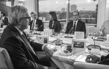 Juncker + Hollande
