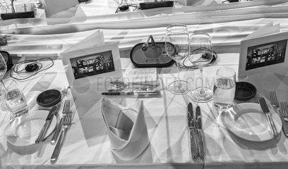 Abendessen im Bundeskanzleramt