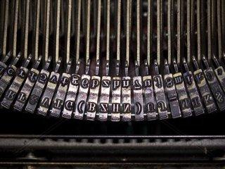 mechanischen Schreibmaschine