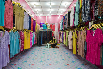 Myanmar  Tangoo  local shop