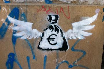 fliegende Sack Euro