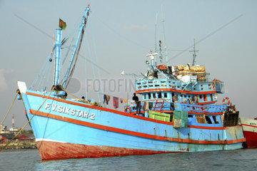 Harbor  Chittagong  Bangladesh
