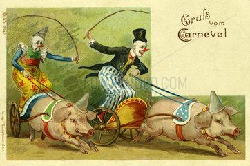 Gruss vom Karneval  1903