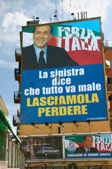 Berlusconi Wahlkampf