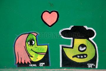 love and street art