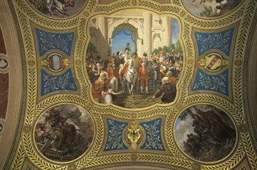 Heeresgeschichtliche Museum Wien  Fresken