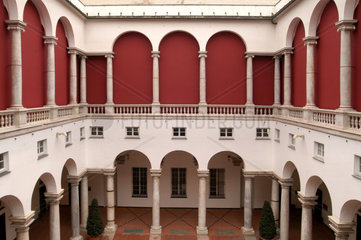 Italy  Liguria  Genoa  the courtyard of Ducale Palace