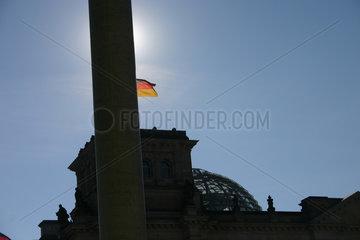 Reichstag Silhouette