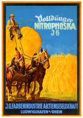 Werbung fuer Duenger  IG Farben  1927