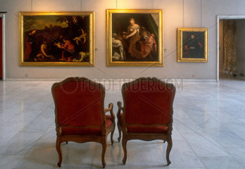 Italy  Liguria  Genoa  museum of Red Palace  picture Giuditta and Oloferne of the Veronese painter