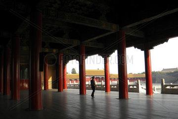 Forbidden city  Beijing  China