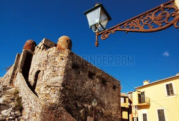 Italy  Liguria  Camogli  the buildings