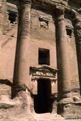 Jordan  Petra  the ruins