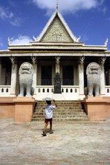 cambodia  Royal building  Phnom Penh