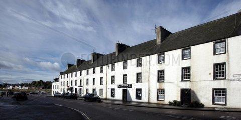 Europe  UK  Scotland  main street in Inveraray
