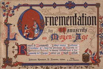 Cover to Ernest Guillot Ornementation des Manuscrits au Moyen-Age