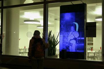 Doppelgaenger im Schaufenster von SAP