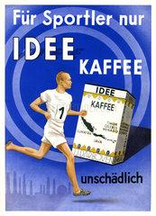 Kaffee-Werbung 1932  Idee Kaffee