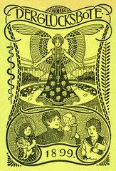 Der Gluecksbote  Apothekenkalender  1899