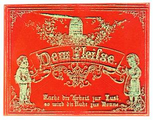 Fleissbildchen  1860