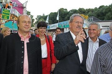 Christian Ude  SPD  auf Wahlkampftour