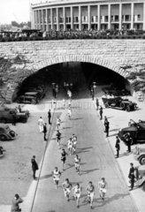 Berlin  Olympiade 1936 Marathon
