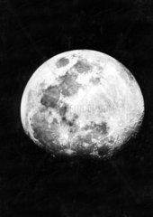 Mond  historische Aufnahme