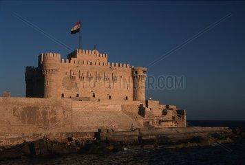 Burg in der Wueste