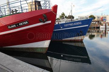 Im Hafen von Heiligenhafen  Schleswig-Holstein