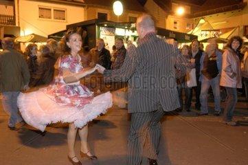 Oldtimer festival in the village