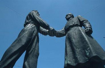 Sozialistisches Denkmal in Budapest