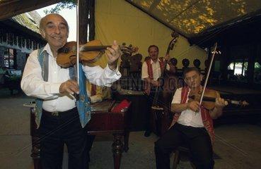 Zigeuner Musikgruppe