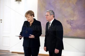 Merkel + Gauck