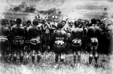 Gruppe von Schwarzen