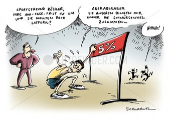 Frist fuer FDP-Chef Roessler ist um