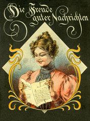 Die Freude guter Nachrichten  1898