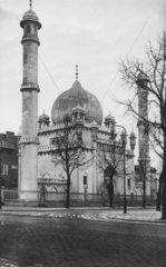 D-Berlin  1930  Wilmersdorf Moschee
