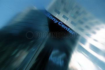 D - Berlin - verschwommenes Sonycenter