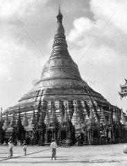 asiatischer Tempel  Mynamar Burma
