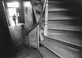 Treppe in einem Altbau