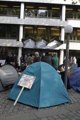 Occupy Hamburg Mahnwache 17.10.2011