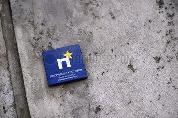 Berlin Wall - Jahrestag Bau der Mauer