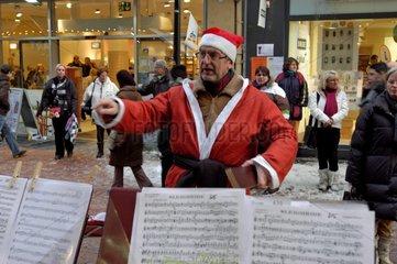 Musikalischer Weihnachtsmann