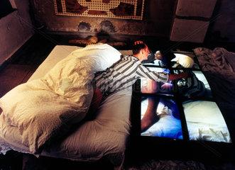 Videoinstallation Sex