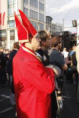 Papst Demonstration in Berlin