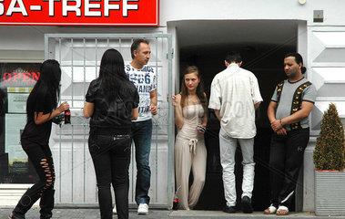 Imigranten aus dem Balkan