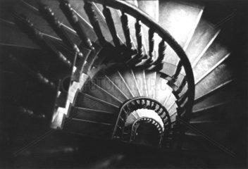 Treppe Holzgelaender Spirale