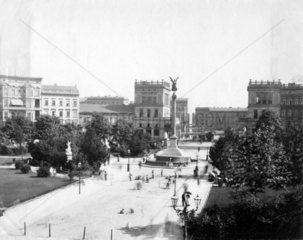 D-Berlin Belle Alliance Platz 1730 am suedl. der Friedrichstadt